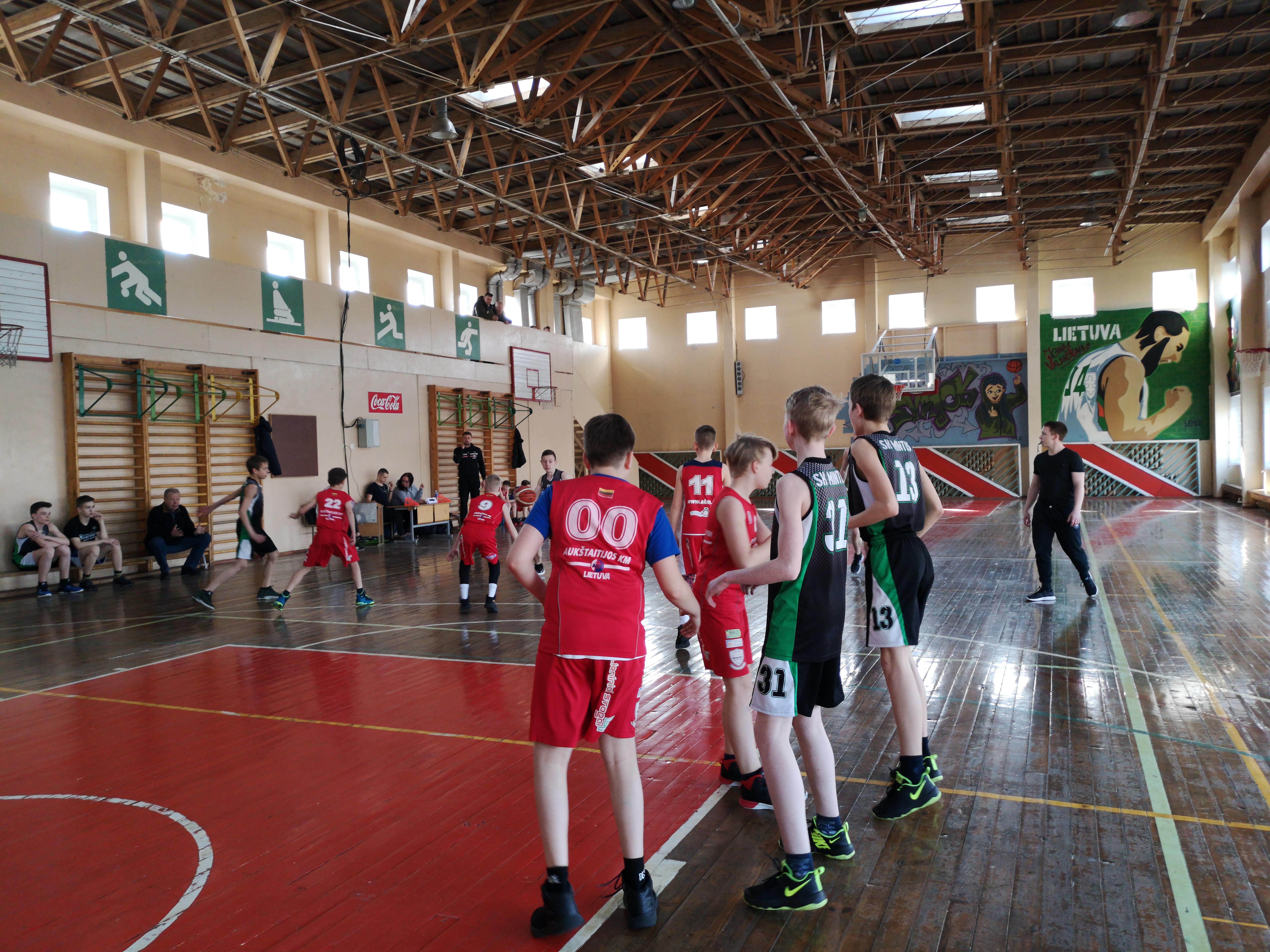 Aukštaitijos krepšinio mokyklos mokyklinukų krepšinio čempionatas Atostoguauto.LT taurei laimėti žengia į antrąją sezono pusę