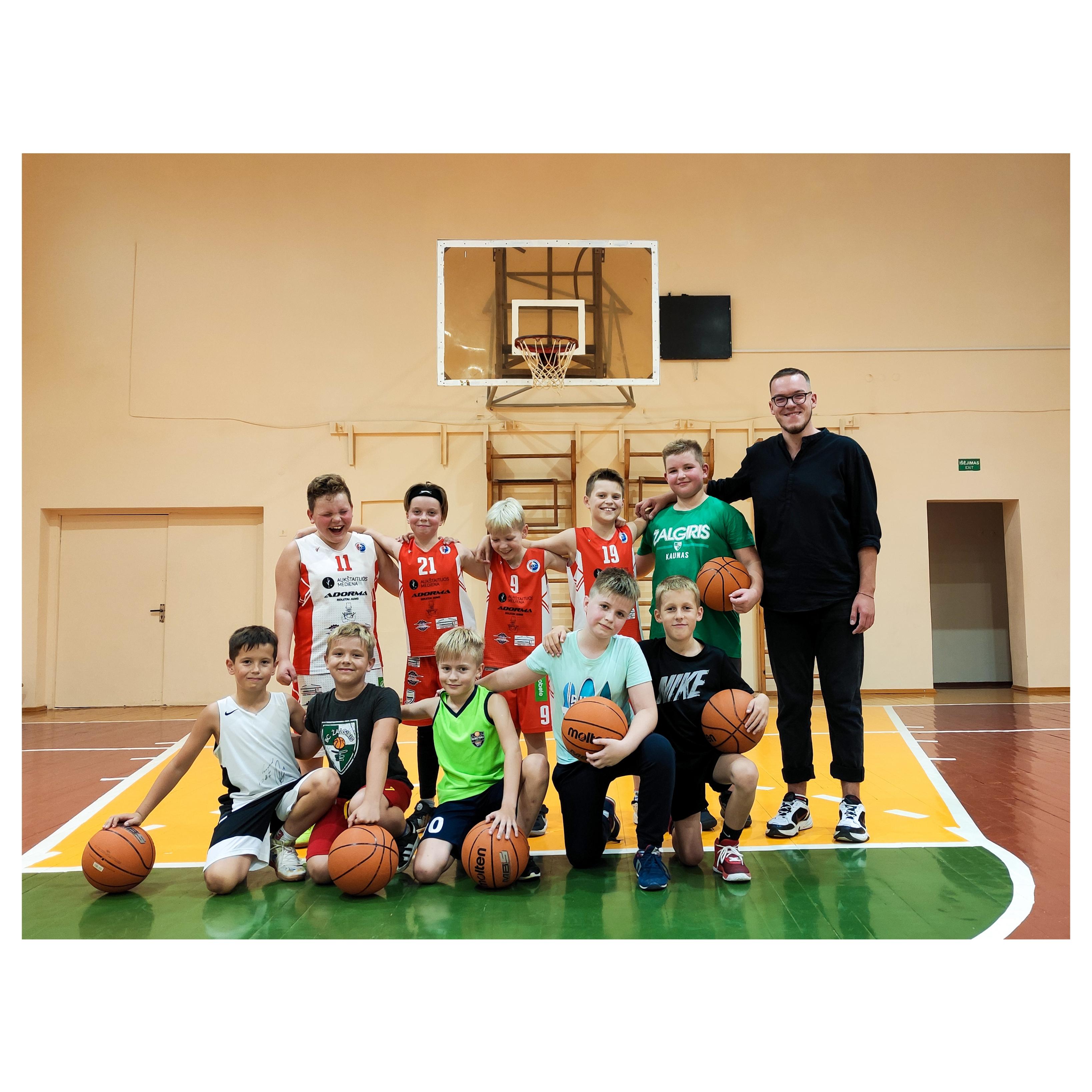 Profesionalios krepšinio treniruotės ir Pasvalyje!